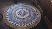 Ornate Tiled Top occasional table